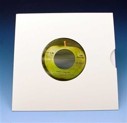 7 Inch Die Cut White Jacket For 45s Sample