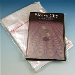 100 Pack Of Clear Dvd Wrappers